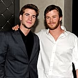 Chris supported his younger brother at the LA afterparty for the premiere of The Last Song in March 2010.