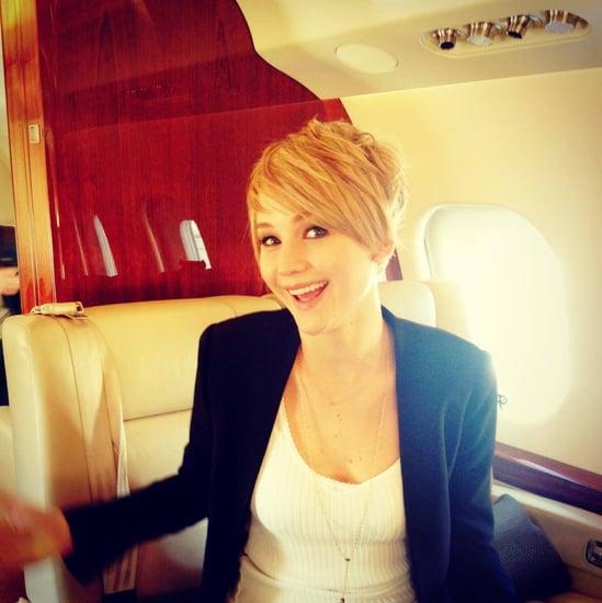 Jennifer Lawrence's Short Haircut 2013