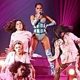 """Becky G performing """"Dollar"""" at the Latin AMAs"""