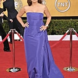 Mariska Hargitay was regal in purple.