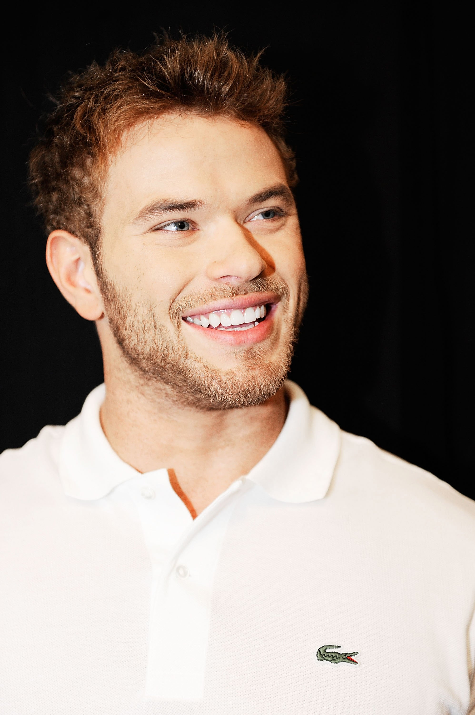 Kellan Lutz at a Lacoste party.
