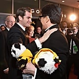 Pictured: Jackie Chan and Andrew Garfield