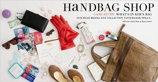A Look Inside J. Crew Designer's Handbag