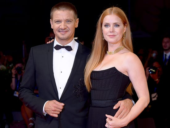 Amy Adams Makes a Glam Arrival with Jeremy Renner at the Venice Film Fest Premiere