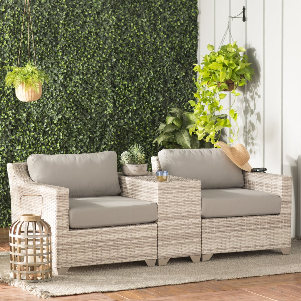 Falmouth 3 Piece Rattan Seating Group With Cushions The 40 Best Outdoor Furniture Pieces You Can Shop On Sale This Weekend Popsugar Home Photo 4