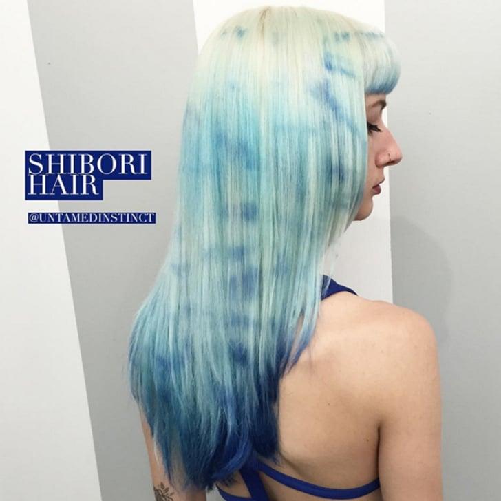 Tie Dye Hair Color Trend Popsugar Beauty