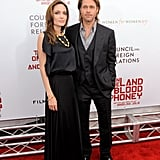 Brad Pitt and Angelina Jolie Premiere Pictures in NYC