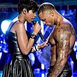 Things got steamy for Jennifer Hudson during her performance at the BET Awards.