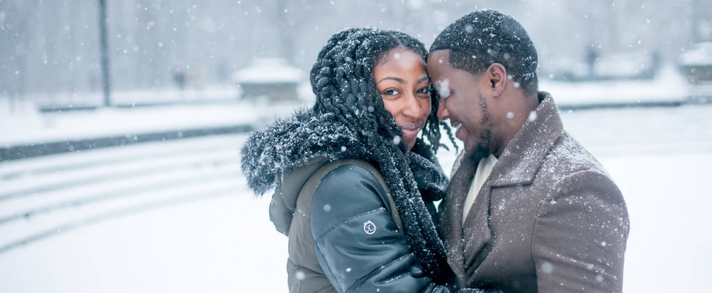 This Couple's Snowy Engagement Shoot Is Sweet Enough to Melt Your Heart