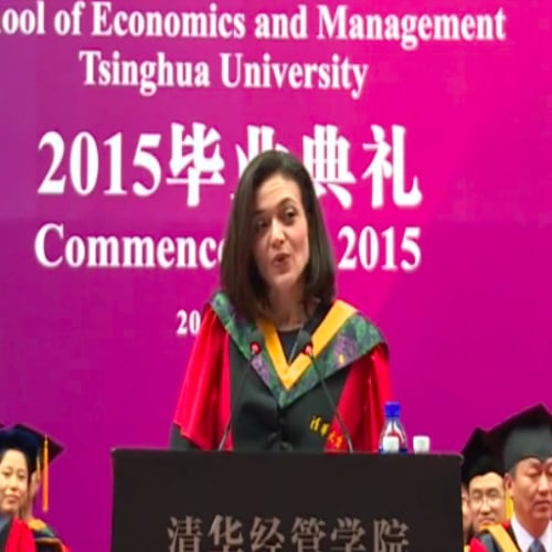 Sheryl Sandberg's Commencement Speech at Chinese College