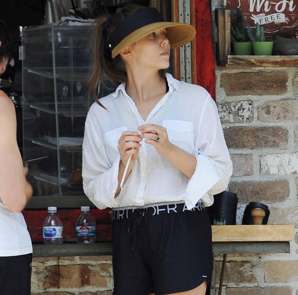 Elizabeth Olsen Engagement Ring
