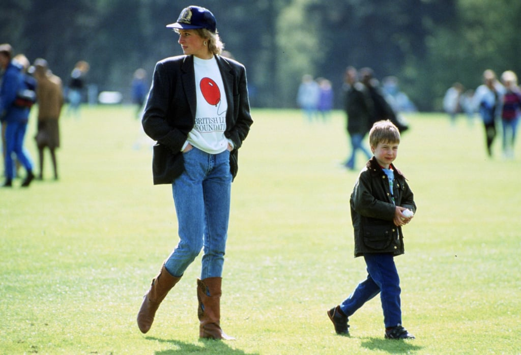 Princess Diana as a Mom in the '90s