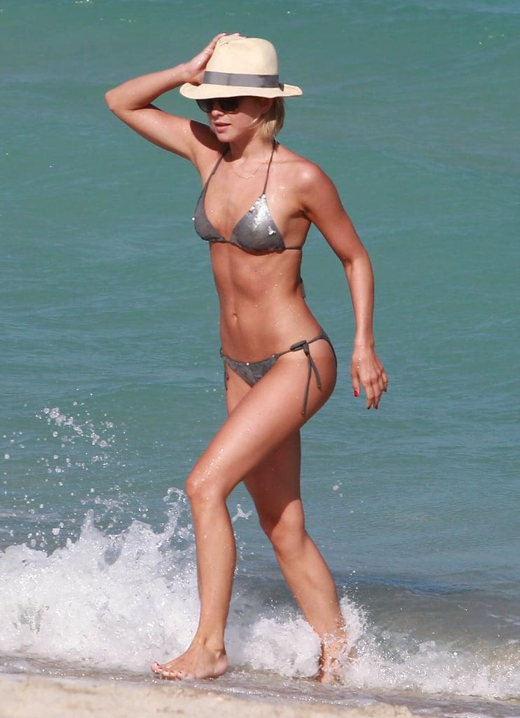 In April, Julianne Hough showed off her bikini body in Miami.