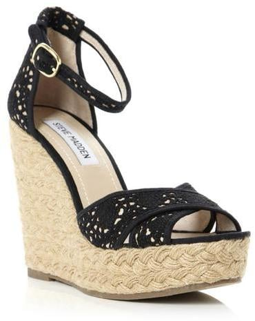 6adb632e01d Steve Madden Marrvil Crochet Espadrille Wedge Sandal | Best Wedge ...