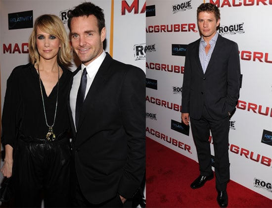 Pictures from MacGruber Premiere