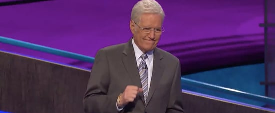 Watch Alex Trebek Tear Up From a Contestant's Message