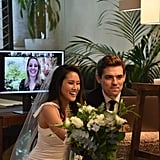 How a Bride Got Ready For a Virtual Wedding During COVID-19