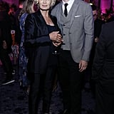 Jessica Lange and David Corenswet at The Politician Premiere