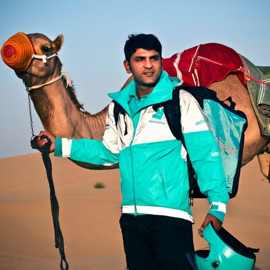 Deliveroo Trials Camel Delivery