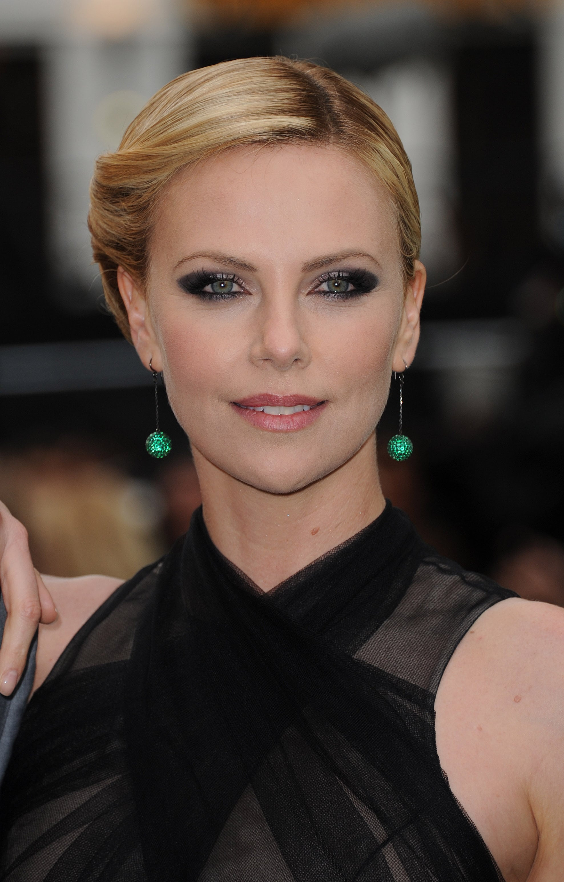 Charlize Theron Snow White Makeup Channeling her role as...