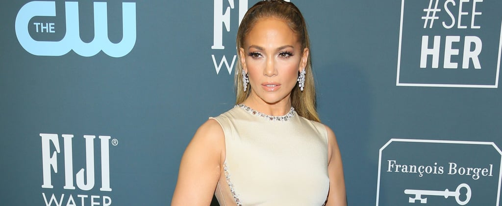 Jennifer Lopez's Champagne Critics' Choice Awards Dress