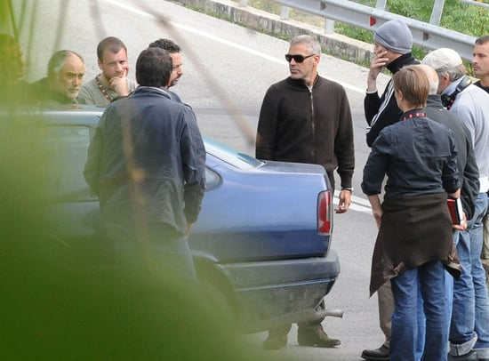 George Clooney begins filming his new movie