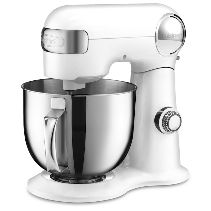 Cuisinart 5.5-Quart 12-Speed White Residential Stand Mixer Lowes.com