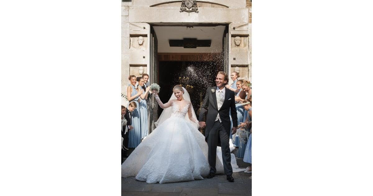 Victoria Swarovski Most Extravagant Wedding Dresses Of 2017