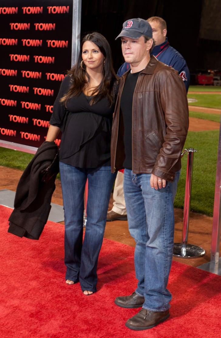 Matt Damon Welcomes 4t...