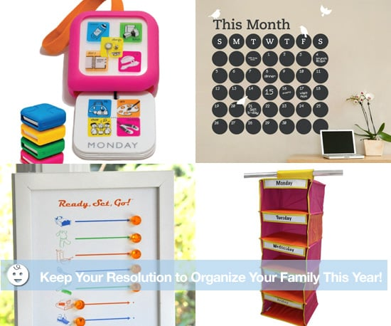 Organization Tips for Families