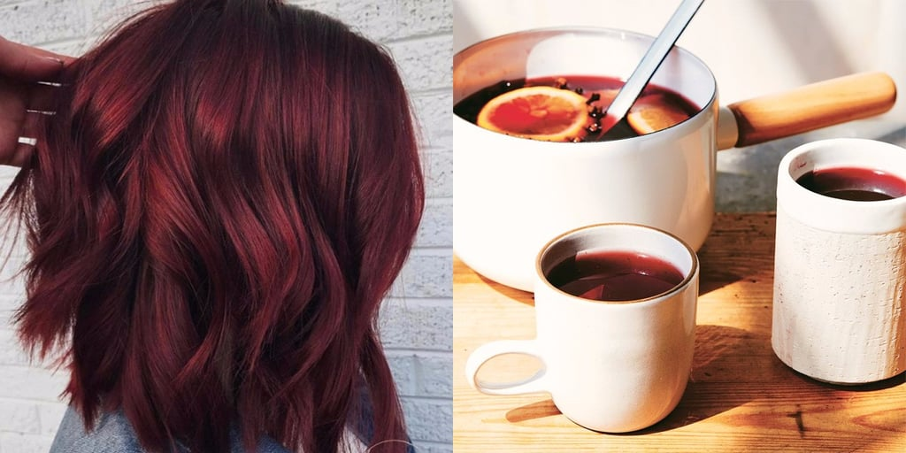 Mulled Wine Hair Is the Cosiest New Winter Beauty Trend