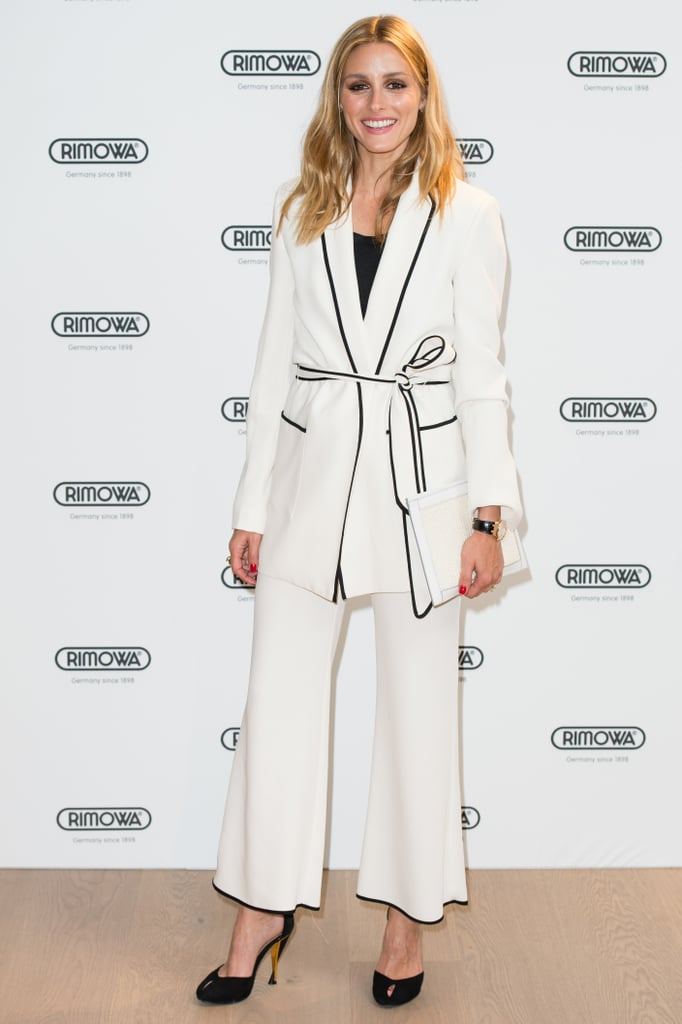 Olivia Palermo Zara Suit June 2016