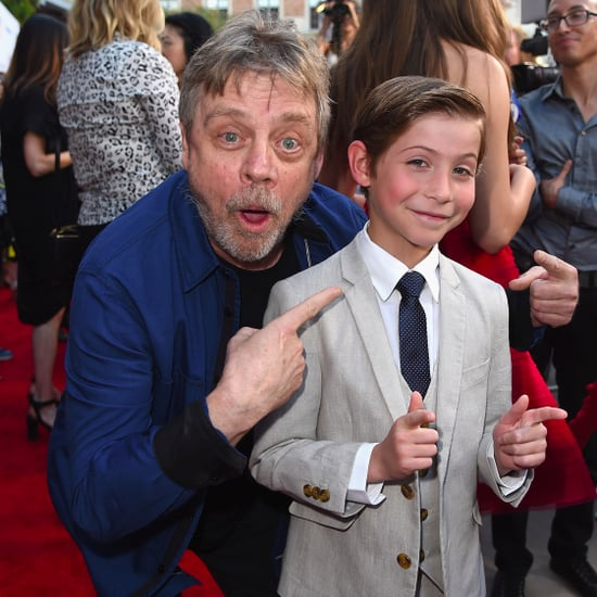 Jacob Tremblay and Mark Hamill at Los Angeles Film Festival