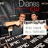 Pictures of Paul Wesley and Ian Somerhalder