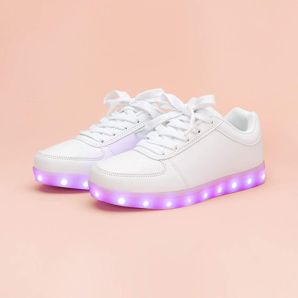 Ban.do White Light-Up Sneakers