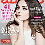 Mila Kunis posed for the cover.