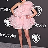 Rowan Blanchard at the Warner Bros. and InStyle 20th Golden Globes Afterparty