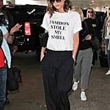 Victoria Beckham Fashion Stole My Smile T-Shirt