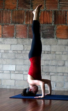 How to Build Strength For Yoga Inversions