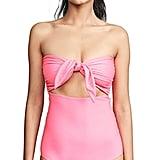 Mikoh Lana Neon Pink One-Piece Swimsuit