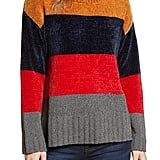 Cotton Emporium Stripe Chenille Sweater