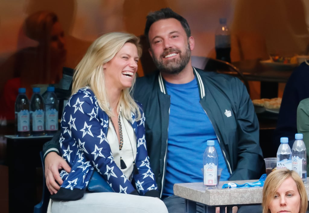 Ben Affleck and Lindsay Shookus have officially taken their relationship to court — the tennis court that is. On Sunday, the actor, who is currently in the middle of divorcing Jennifer Garner, flaunted his romance with the Saturday Night Live producer as they watched the US Open Tennis Championships in NYC. Aside from showing sweet PDA as they cuddled up and held hands, Lindsay couldn't help but let out a huge laugh as they chatted at their table. And the fun didn't stop there. Following the game, Lindsay was all smiles as they took a casual stroll around the Upper West Side.