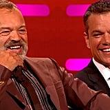 Bill Murray and Matt Damon Getting Drunk