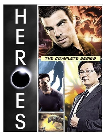 Heroes: The Complete Series on DVD ($108)