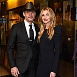 The couple shared a special night out for the Country Music Hall of Fame and Museum's debut of the Tim McGraw and Faith Hill Exhibition last November.