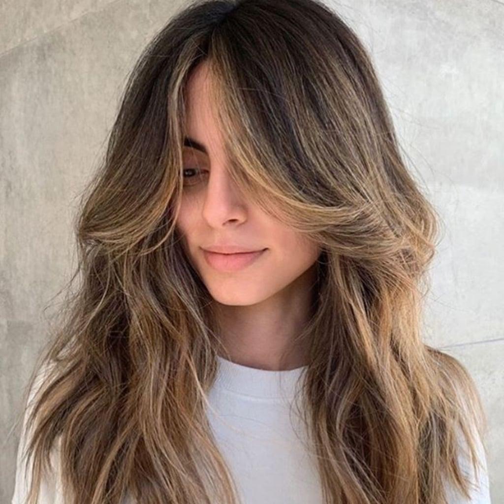 Curtain Bangs With Long Hair   POPSUGAR Beauty
