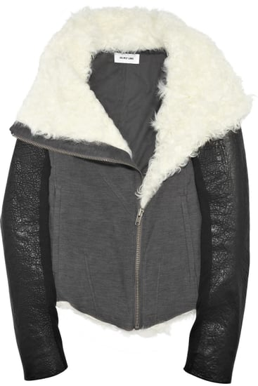 Helmut LangShearling-Trimmed Jacket ($1,175)