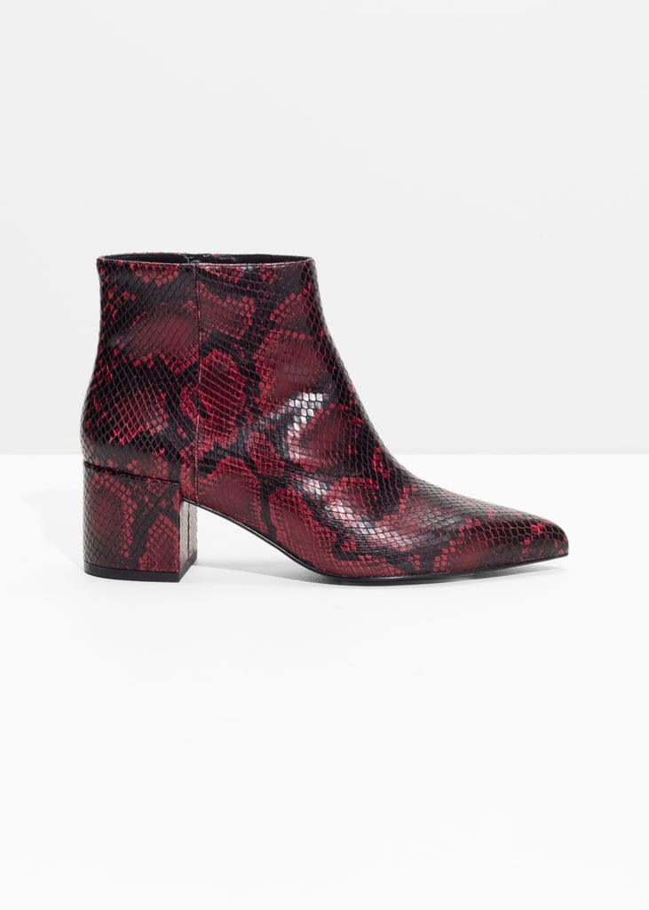 & Other Stories US Heeled Ankle Boots