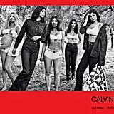 And the Kardashian-Jenners made waves in the Fall 2018 denim and underwear ad.