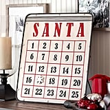 Buy: Pottery Barn Santa Magnetic Advent Calendar